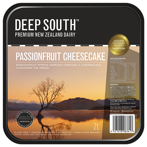 Passionfruit Cheesecake - 2L