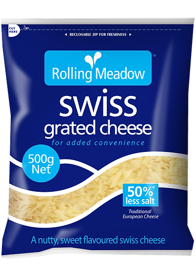 Rolling Meadow Swiss Grated 500g