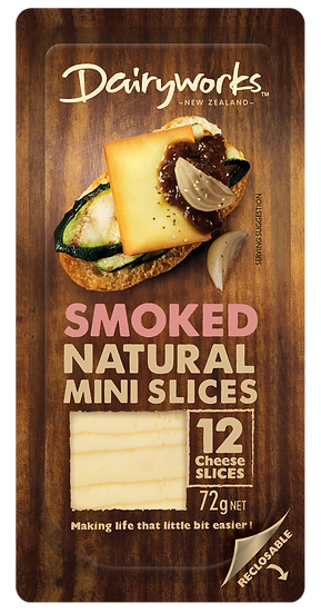 Dairyworks Smoked Natural Mini Slices 72g