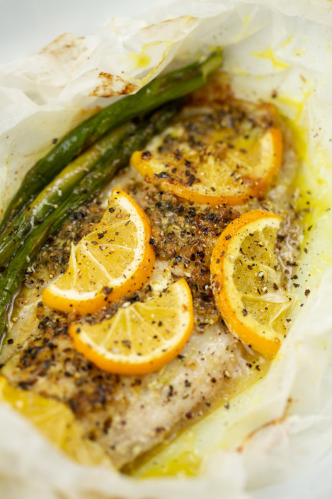 Dairyworks Baked Lemon Butter Fish