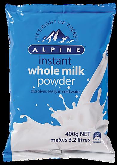 Alpine Whole Milk Powder 1kg / 400g