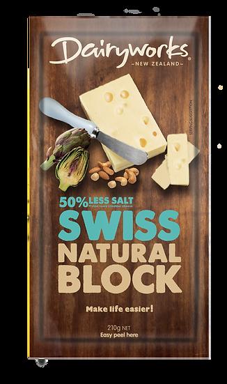Swiss Natural Block 210g
