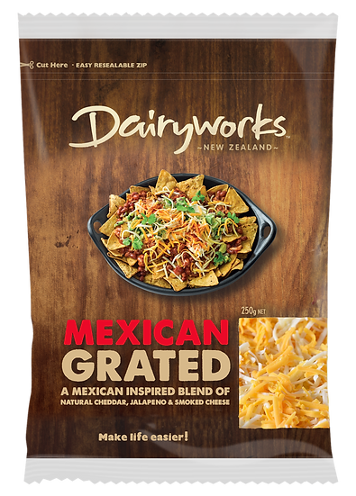 Dairyworks Mexican Blend Natural Grate 250g