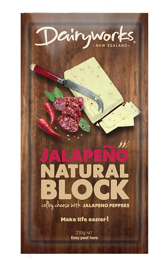 Jalapeno Natural Block 210g