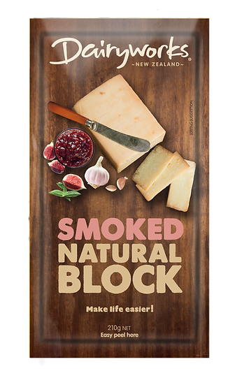 Smoked Natural Block 210g