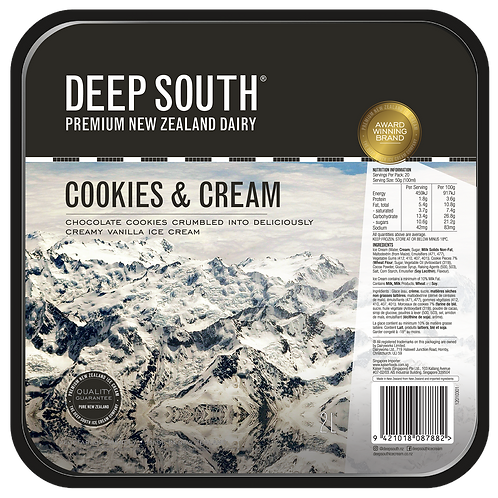 Deep South Cookies & Cream 2L