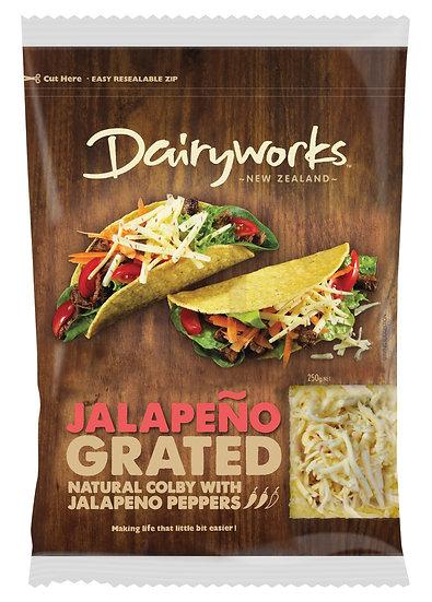 Dairyworks Jalapeño Grated 250g