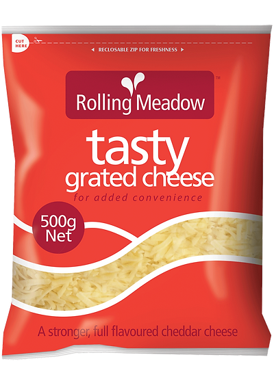 Rolling Meadow Tasty Grated 1kg / 500g / 400g