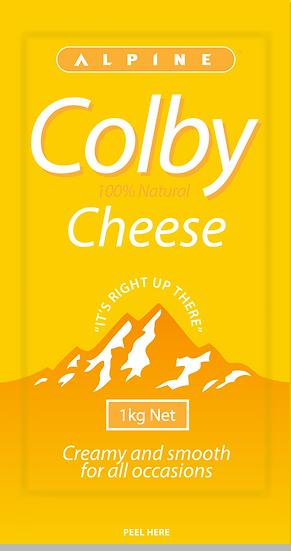 Alpine Colby Block 1kg / 500g