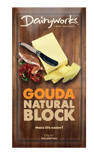 Gouda Natural Block 210g