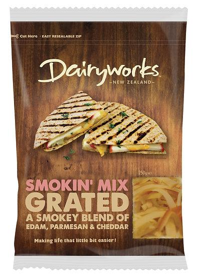 Dairyworks Smokin' Mix Grated 250g