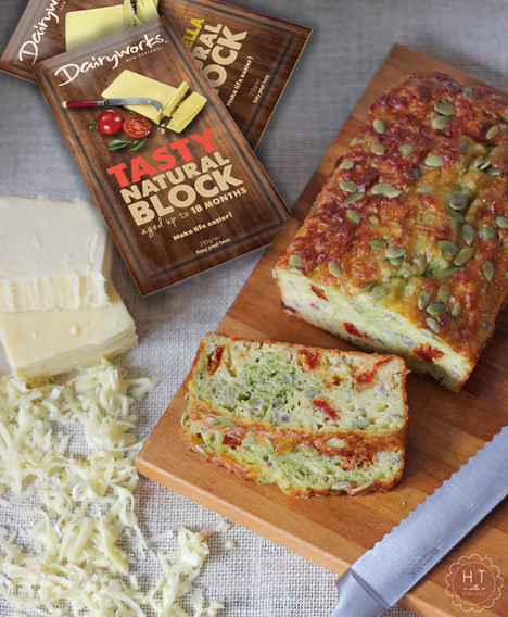 Cheesy Lovers Savoury Loaf