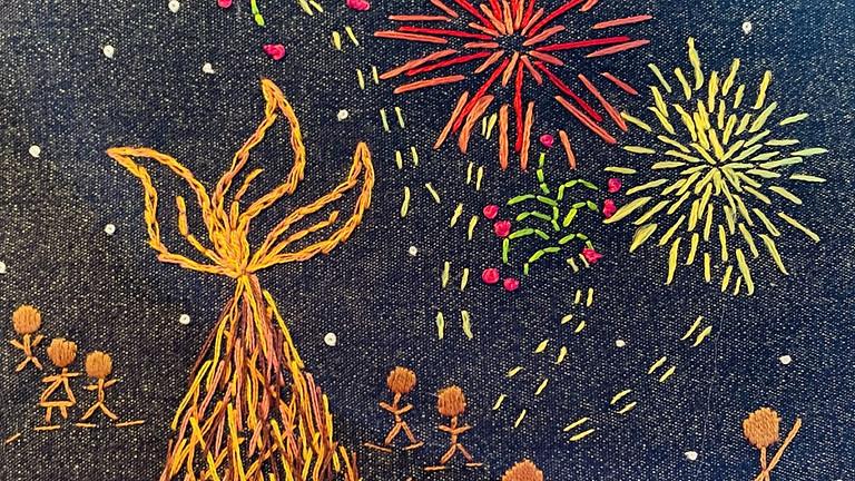 Bonfire and Fireworks!