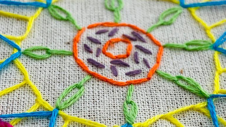 Slow Stitch a Mandala