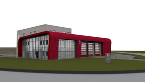 THEALE FIRE STATION - COMMERCIAL FLUE SYSTEM - ORDER RECEIVED