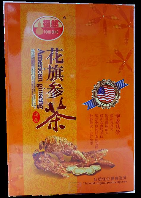 American Ginseng Tea pack (2g/pkt x 8pkt/box)