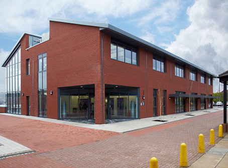 Halesowen College flues - Completed by HQ Limited