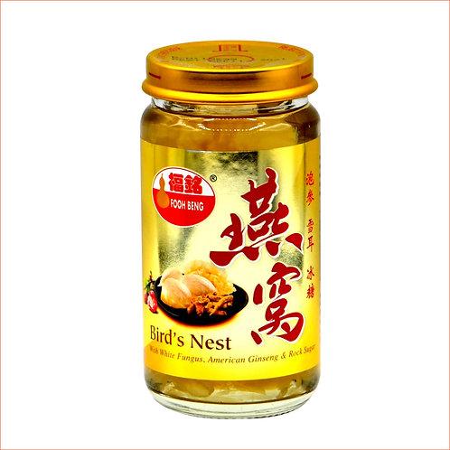 Bird's Nest with American Ginseng, White Fungus & Rock Sugar (150ml)