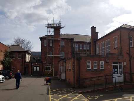 Urgent Covid-19 Rehabilitation Centre, Birmingham - Completed by Flue HQ Limited
