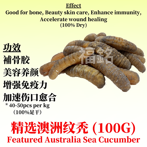 Featured Australia Sea Cucumber (100G)