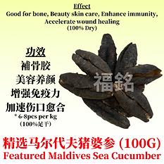 Featured Maldives Sea Cucumber (100G)