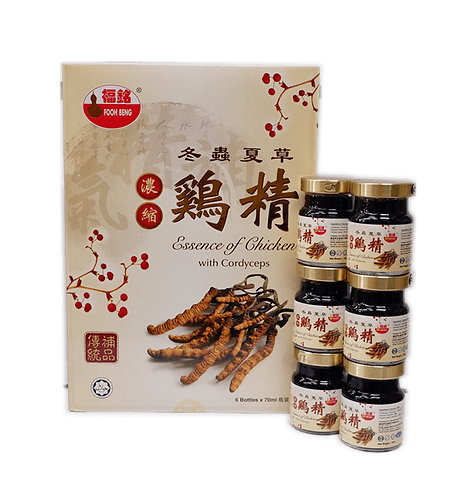 Essence Of Chicken With Cordyceps (6cans x 70ml)