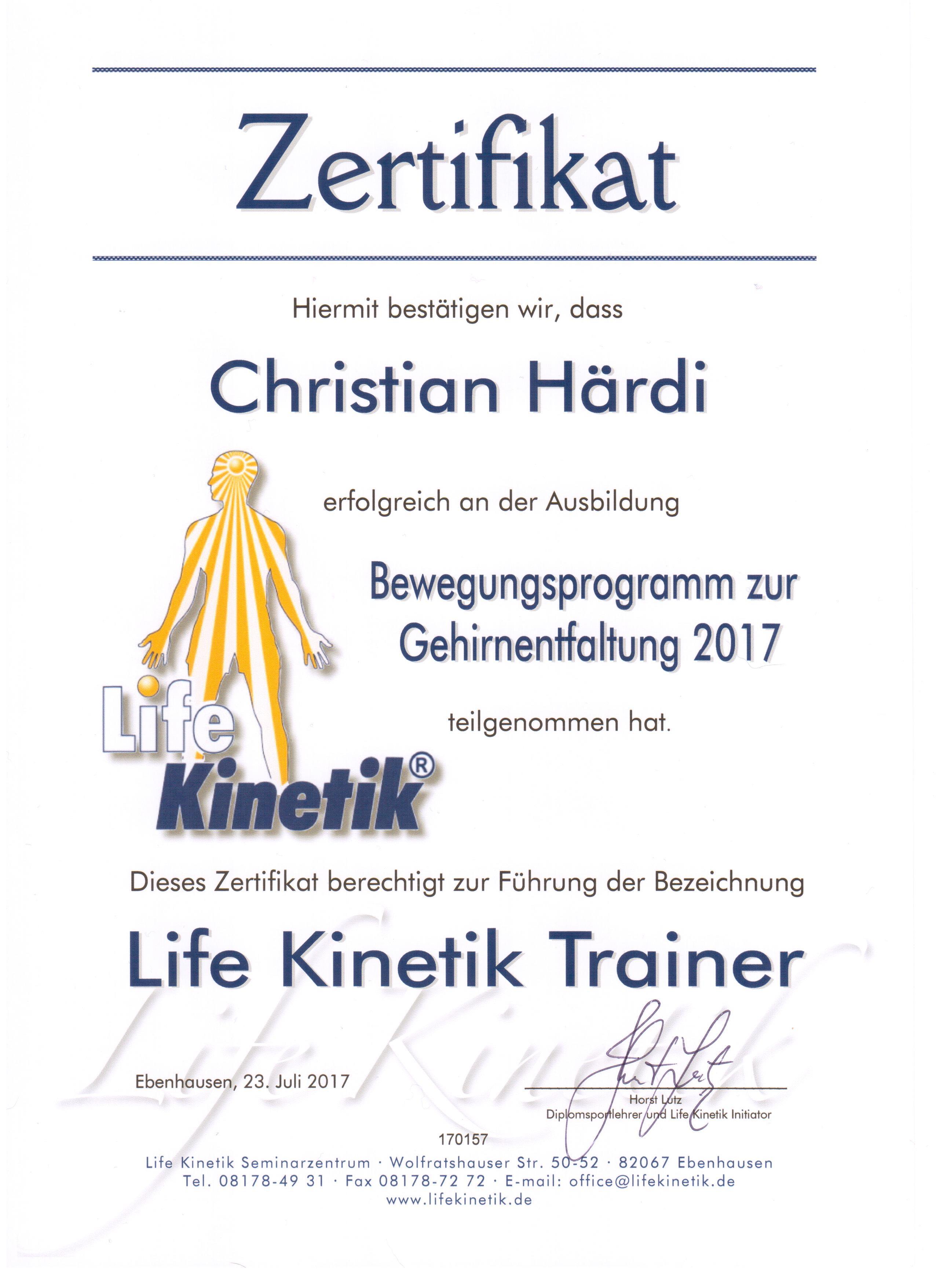 Life Kinetik Training