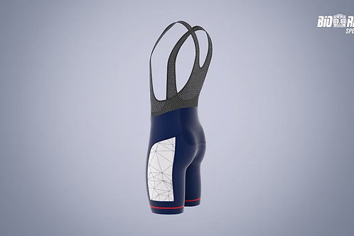 "Prefontaine ""Cartouche"" Cycling Bib Shorts"