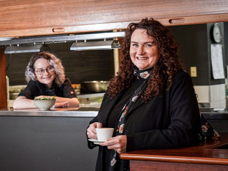 Mum's the word for Erin's dream of a career in cooking