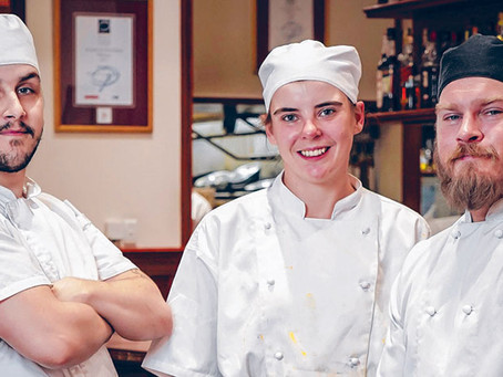 Apprenticeships on menu to meet skills challenge