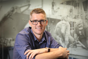ACCREDITED: Naval Shipbuilding College training solutions manager Nick Howie. Picture: Russell Millard/The Advertiser