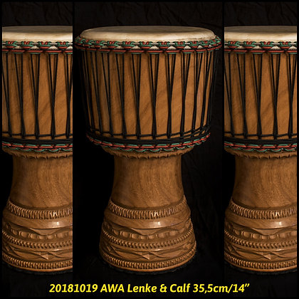 "AWA Lenke Guinea & Calf 35,5cm/14"""