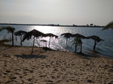 Lagoa na Ilha dos Marinheiros.