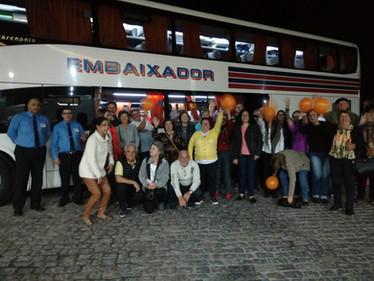Grupo Mineia Turismo e Terrasul Turismo para Ametista do Sul
