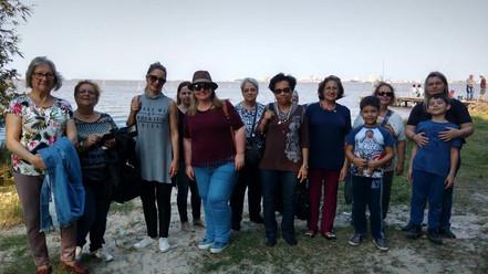 Grupo da Terrasul com Minéia Turismo na Ilha dos Marinheiros. 03/09/17