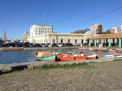 Vista das Docas e Mercado Municipal
