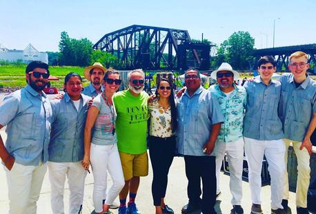 KCLJO with Congresswoman Sharice Davids Levee Fest 2019