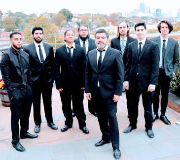 Sanhueza with KCLJO musicians (minus Walter Montero)