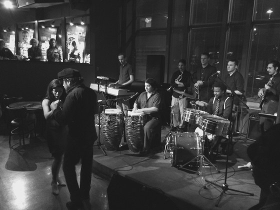 Pablo Sanhueza & the KC Latin Jazz All-Stars salsa with ARTS Alive at the Blue Room.