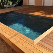 piscine carré