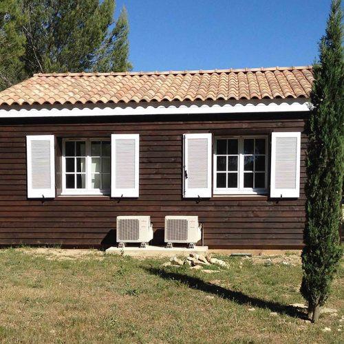 maison marron