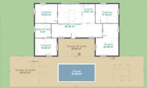 Maison Ossature Bois : 140m2
