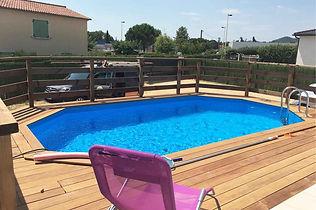 terrasse piscine alès