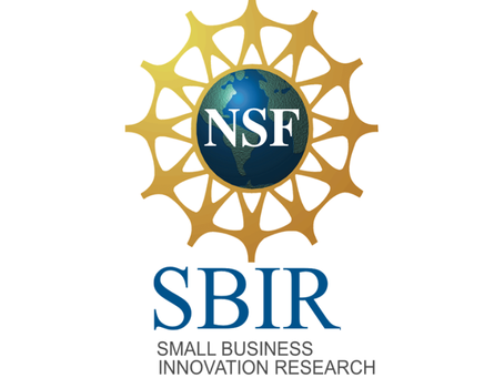 Thrilled to be awarded the NSF SBIR phase I grant!
