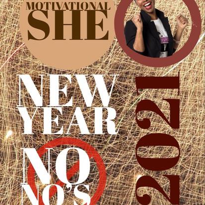 New Year No No's