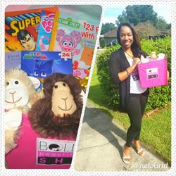 Shelter toy basket donations