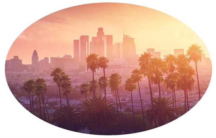 Los Angeles - Palm Trees - Mirage