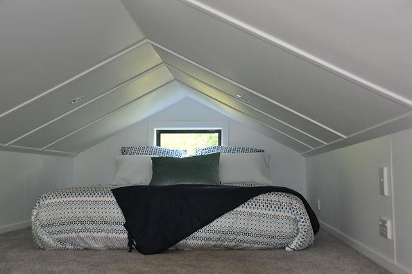 Sleeping Loft in miHAUS tiny house