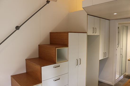 the LODGE Stair Joinery by miHAUS