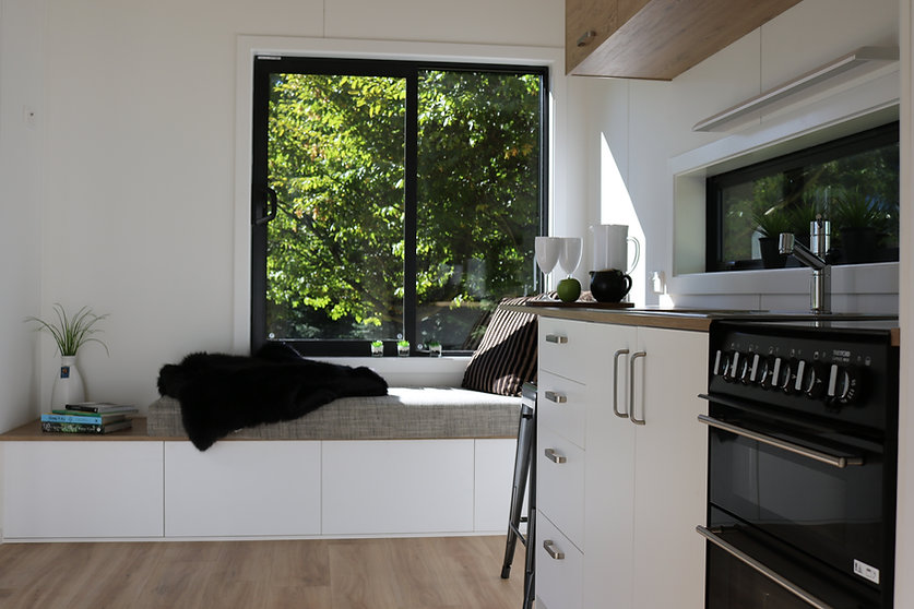 the VILLA interior windowseat by miHAUS